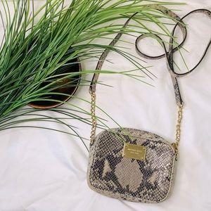Michael Kors Snake skin small crossbody bag